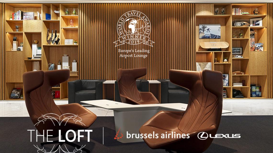 Salonek Lexus na letišti v Bruselu je jeden z nejlepších v Evropě