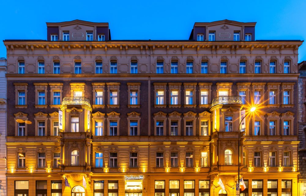 Radisson Blu Hotel, Prague oslavil své otevření