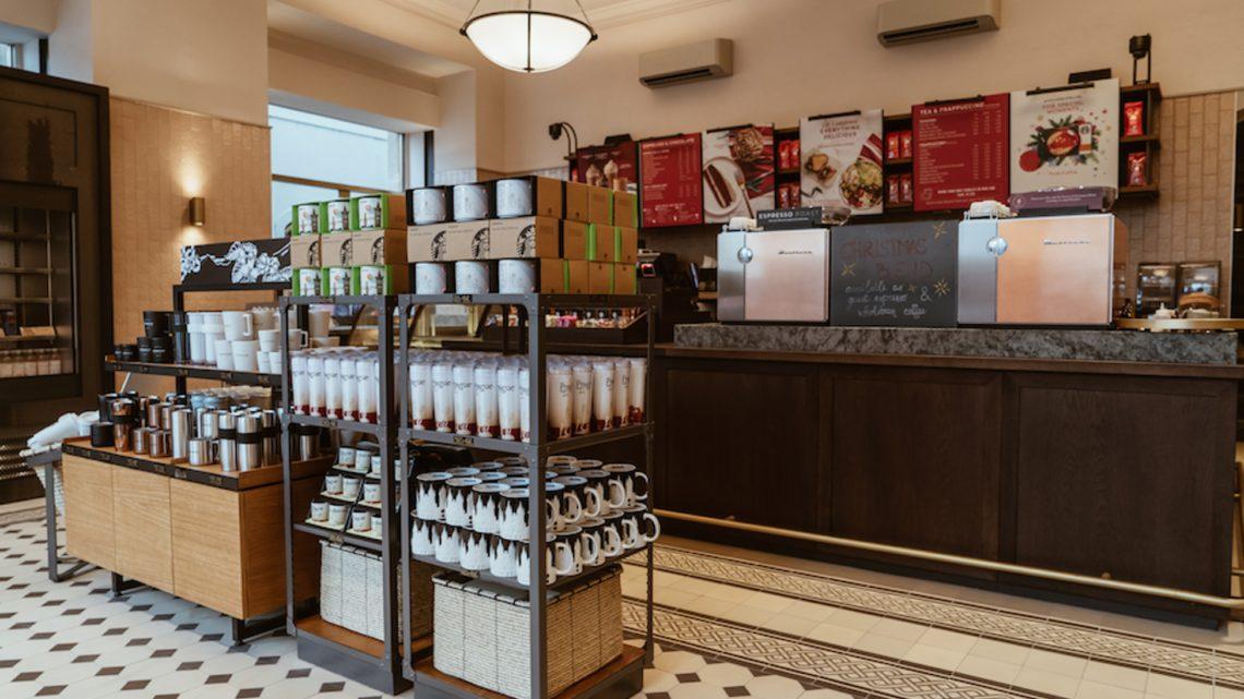 Starbucks otevřel doposud největší pobočku v ČR
