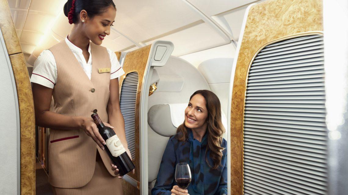 Aerolinky Emirates představuje vinařské poklady světa