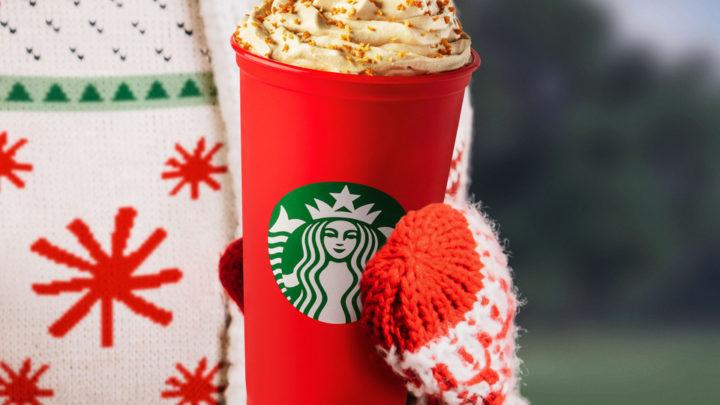 Chuť Vánoc v limitované nabídce Starbucks