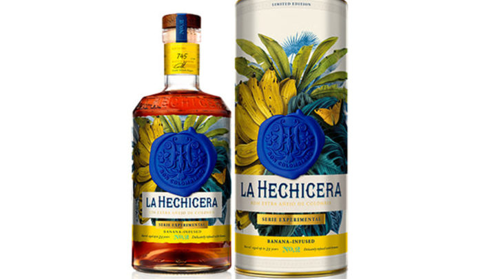 Kolumbijská značka rumů La Hechicera uvádí svoji druhou limitovanou edici ze Série Experimental – infuzovaný banán