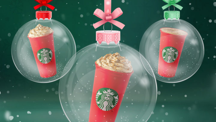 Vánoční atmosféra ve Starbucks