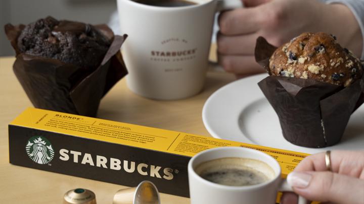 Lednový pozdrav ze Starbucks