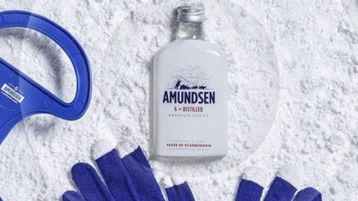 Prémiová vodka Amundsen uvádí na trh svou legendární 6x destilovanou vodku ve zcela novém provedení placatky