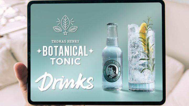 Thomas Henry rozšiřuje portfolio prémiových toniků