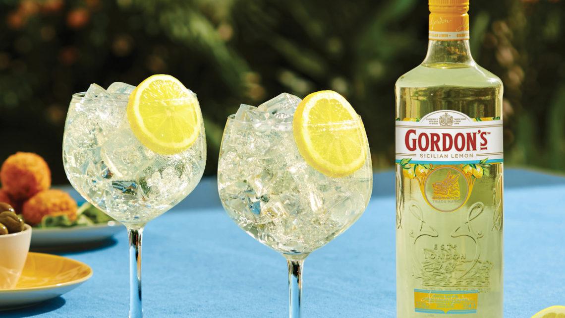 Gordons uvadí na trh nový, delikátní a šťavnatý gin s tóny sicilských citrónů!