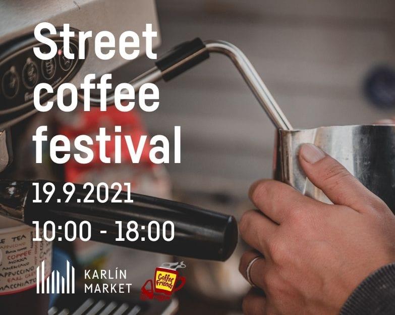 Street coffee festival | Karlín Market